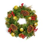 Gold Dressed Wreath