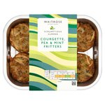 Waitrose Courgette, Pea & Mint Fritter