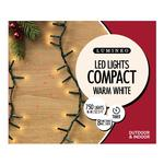 750 LED Compact Twinkle Christmas Tree Lights, Warm White