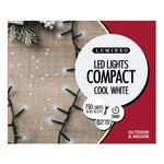 LED Compact Twinkle Lights, Cool White