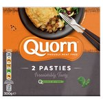 Quorn 2 Frozen Cornish Style Pasties