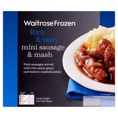 Waitrose Mini Sausage & Mash Frozen