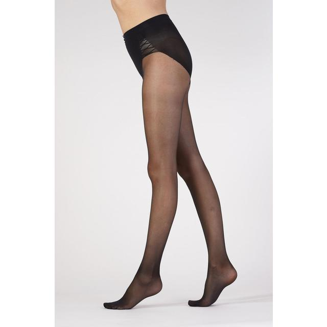 Aristoc 15 Denier Waist & Tummy Toner Tights, Black