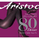 Aristoc Opaque 80 Denier Tights, Black