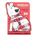 Red Dingo White Spot On Red Puppy Pack