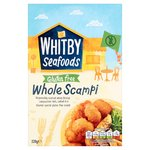 Whitby Seafoods Gluten Free Wholetail Scampi