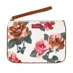 Cath Kidston Chiswick Rose Continental Zip Wallet