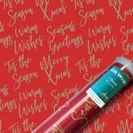 Kraft Christmas Gift Wrap Sheets