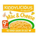 Kiddylicious Meals Mac & Cheese