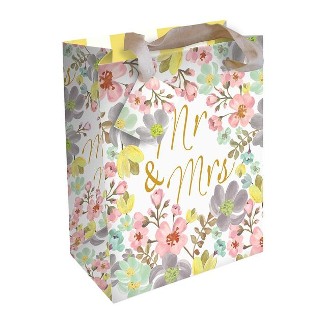 Caroline Gardner Mr Mrs Wedding Gift Bag Large Ocado
