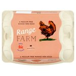 Range Farm Medium Free Range Eggs