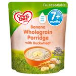 Cow & Gate Banana Wholegrain Porridge Baby Cereal