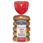 Fitzgeralds Poppy Seeded Bagels