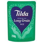 Tilda Microwave Premium USA Long Grain Rice
