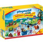 Playmobil 9391 1.2.3 Advent Calendar, Christmas is the Forest with Sleigh