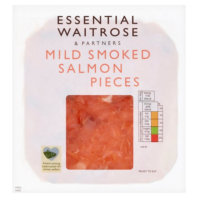 Scottish Smoked Salmon Pieces Waitrose