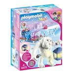 Playmobil 9473 Magic Yeti with Sleigh with Luminous Lantern