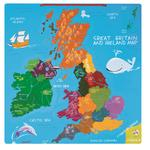 Janod Magnetic Great Britain and Ireland Map