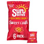 SunBites Sweet Chilli Multigrain Snacks 25g x