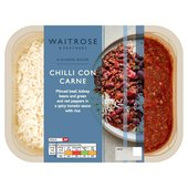 Waitrose Chilli Con Carne with Rice