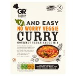 Gordon Rhodes V & Easy No Worry Veggie Curry
