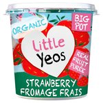YVO Little Yeo's Fromage Frais Strawberry