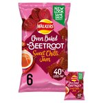 Walkers Baked Beetroot with Sweet Chilli Jam Snacks