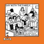 Family Get-Together Greeting Card