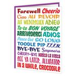 Brainbox Candy Bon Voyage In A While Crocodile Card