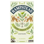 Hampstead Tea Organic Biodynamic Fairtrade Clean Green