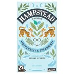 Hampstead Tea Organic Biodynamic Fairtrade Peppermint & Spearmint Tea Bags