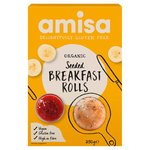 Amisa Organic Gluten Free Seeded Breakfast Rolls