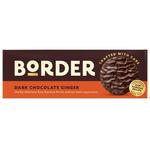 Border Biscuits Dark Chocolate Gingers