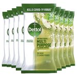 Dettol Green Apple Multipurpose Cleaning Wipes