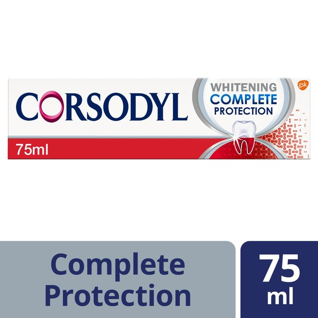 Corsodyl COMPLETE PROTECTION ExtraFresh Toothpaste For Gum Bleeding,Inflame,Seal
