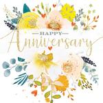 General Anniversary Blooms Card