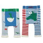 Joules, 2pk Leggings, Dino,