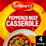 Schwartz Peppered Beef Casserole