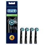 Oral B Crossaction Toothbrush Heads Black
