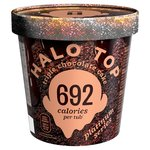 Halo Top Platinum Triple Chocolate Cake