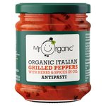 Mr Organic Grilled Peppers Antipasti