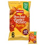 Walkers Baked Sweet Potato with Paprika Snacks