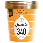 Jude's Lower Calorie Salted Caramel 460ml
