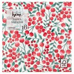 Waitrose Berry Trail Paper Napkins