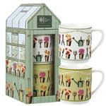 RHS Greenhouse Stacking Mugs in Giftbox