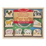 Melissa & Doug My First Stamp Set, Farm Animals, 36 mths+