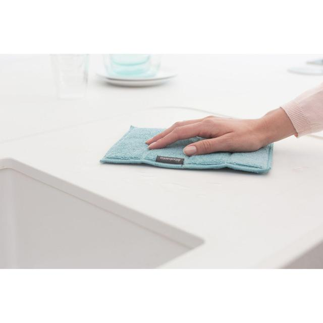 2 Cloth Pack Minky Iron Cleaning Multi-Colour