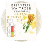 Essential Waitrose Cheese & Chive Dip