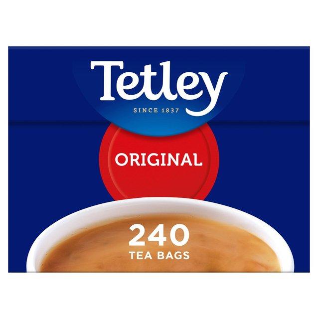 Tetley Tea Bags 240 per pack from Ocado