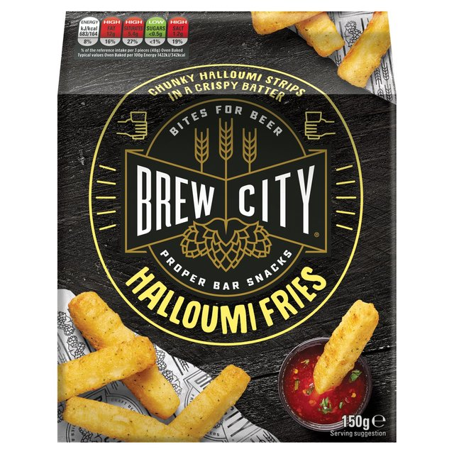 Brew City Beer Munch Halloumi Fries Ocado